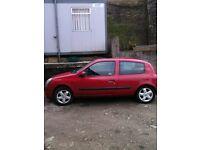 2002 Renault Clio dynamique