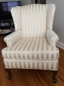 Wing Chair Reupholstered