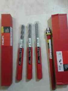 Hilti hammer drill bits and hilti diamond core bits