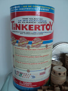 2 VINTAGE HASBRO THE CLASSIC TINKERTOY CONSTRUCTION SETS Cornwall Ontario image 4