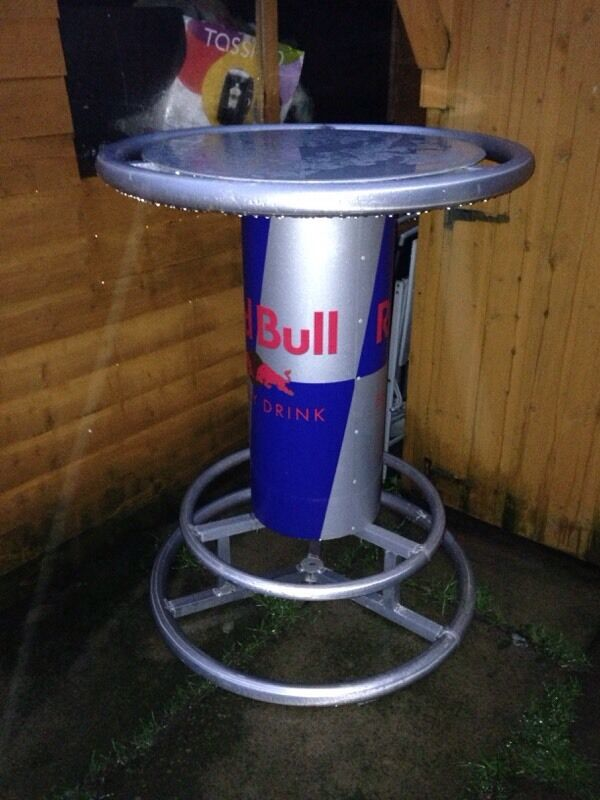 Red bull bar table in gateshead tyne and wear gumtree red bull bar table watchthetrailerfo