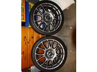 BBS alloy wheels with tyres