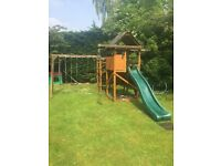 Outdoor climbing frame / slide/ swing sandpit