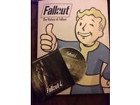 OFFICIAL COLLECTORS BOOK - The History of Fallout FREE Fallout 4 audio CD