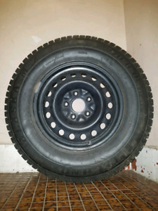 WINTER TIRES RIMS 225/70 R16.  Techno ALASKA M-2 / PNEUS D'HIVER