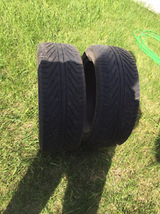 2 tires for sale 215/45ZR17