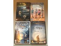 4 x DVDS - Top titles all sealed