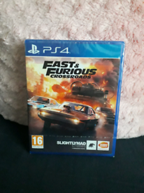 Ps4 fast and furious crossroads new