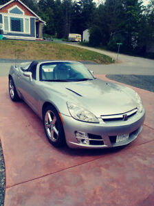 2007 SATURN SKY CONVERTIBLE LOW KM 1 OWNER