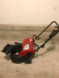Craftsman single stage snow thrower - electric 20''