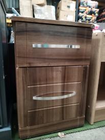 Ex Display 1 Drawer 1 Door Cabinet / Bed side Cabinet / Bedside Drawers (was £79)