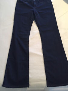 Brand new women's RW&CO blue jeans - Erika slim boot cut - large