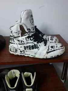 Diesel Men Limited Edition High Top Sneakers Sz 12