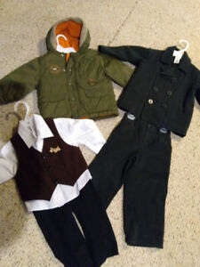 Boys lot -Size 2 (Coats and Suit)