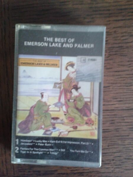 Kaseta magnetofonowa - The best of Emerson Lake and Palmer