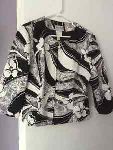 Flower Patterned Jacket Kitchener / Waterloo Kitchener Area image 1