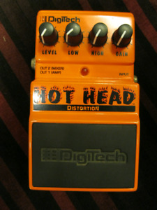 DigiTech Hot Head Distortion Guitar Pedal