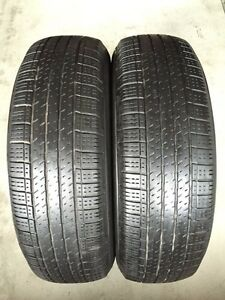 Two 215/70/R16 AllSeason Continental 4x4 Contact -LotsLeft