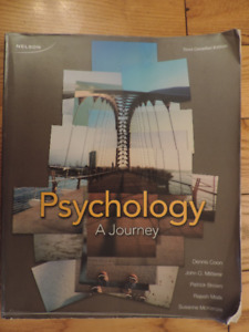 Psychology A journey by Dennis Coon, John Mitterer and, Patricks