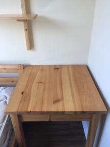 Small Wooden Table