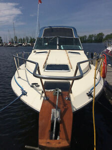 26ft motorboat with trailer available and ready for the summer