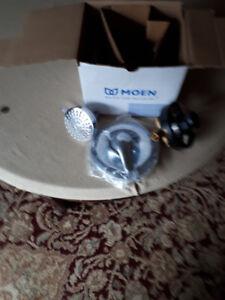 shower valve and shower head