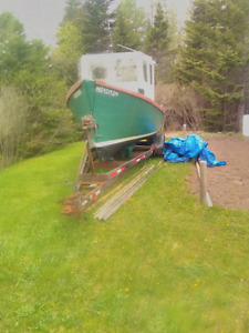 20' baby cape with trailer