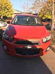 2012 Chevrolet Sonic LT hatchback, LOW KMS