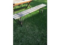Vintage school bench (two)