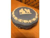 Wedgewood blue jasper trinket box