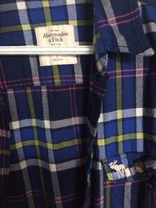 Abercrombie and Fitch plaid shirt Cambridge Kitchener Area image 2