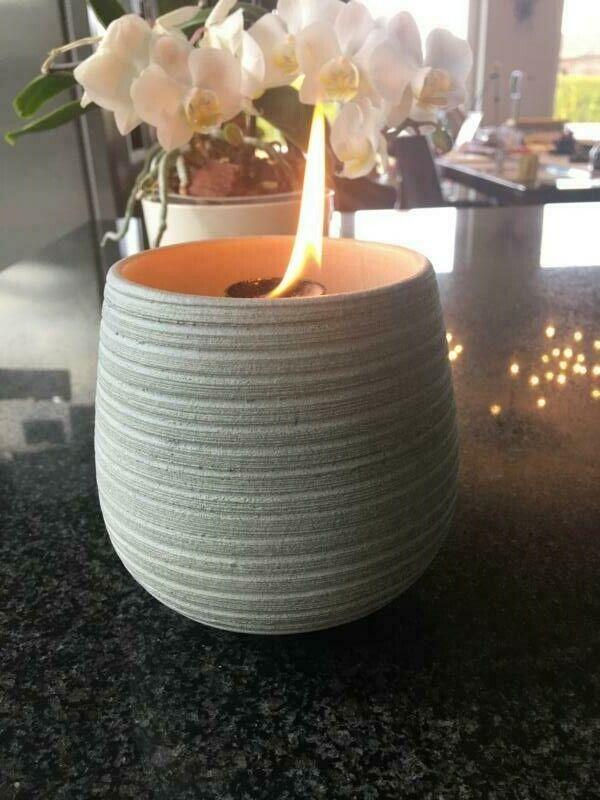 Schmelzlicht Kerzen Wachs Reste Dochthalter Glasfaser Lampen Docht Feuer Fackel