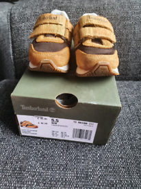 Timberland infant trainers size uk5