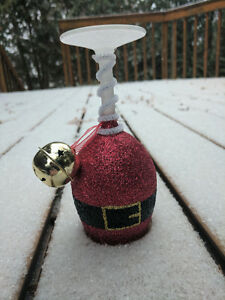 Christmas Themed Wine Glass Candle Holders Peterborough Peterborough Area image 7