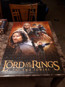 Lord of the rings puzzles