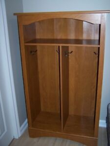 Hall cabinet for coats and knapsacks - $100 OBO - gently used