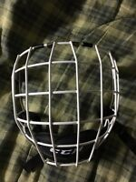 White large CCM cage