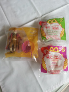 McDONALD.S Collectible Toys....Two MULAN  One DR.DOPPLER