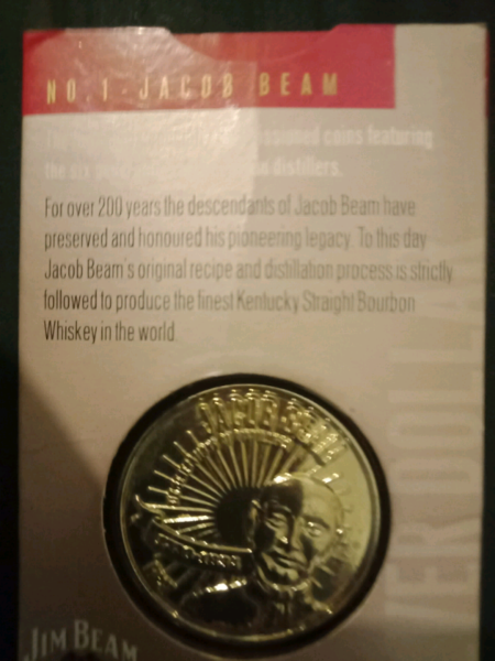 Jim Beam coins | Collectables | Gumtree Australia Stirling