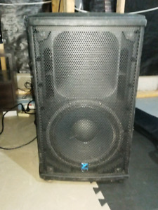 "Yorkville NX25P 12""  powered PA speaker"
