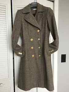 Sonia Rykiel double breasted coat  size Small/Medium 4-8