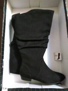 Brand New in box Black Knee High Boots