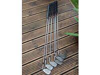 Left Hand Ben Sayers golf clubs