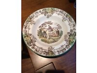 Spode plates and bowls