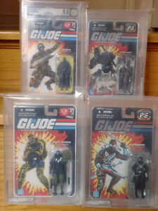 GI JOE 25th Anniversary SNAKE EYES AFA