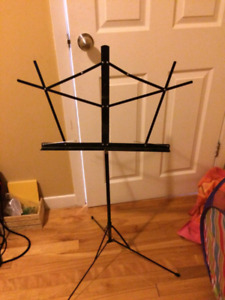 Two music stands 15 dollars each like new