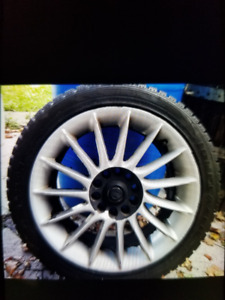"""Set of 4, 17"""" Winter Tires For Sale!"""