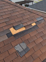 Need your roof repaired TODAY? Vents - Shingles - Water Damage