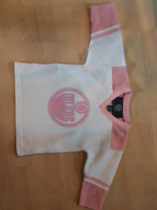 Euc Oilers Jersey perfect condition 3x/4t
