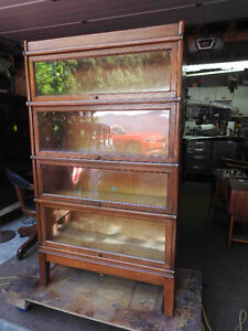 wanted: antique barrister or lawyers sectional  bookcases